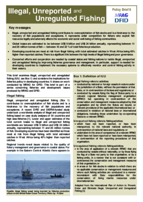 IlIegal, Unreported and Unregulated Fishing