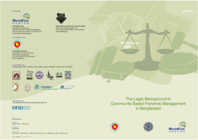 The Legal Background to Community Based Fisheries Management in Bangladesh