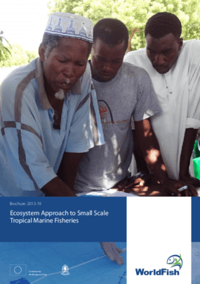 Ecosystem Approach to Small Scale Tropical Marine Fisheries