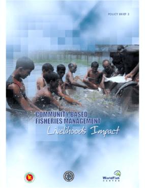 Community Based Fisheries Management: Livelihoods Impact