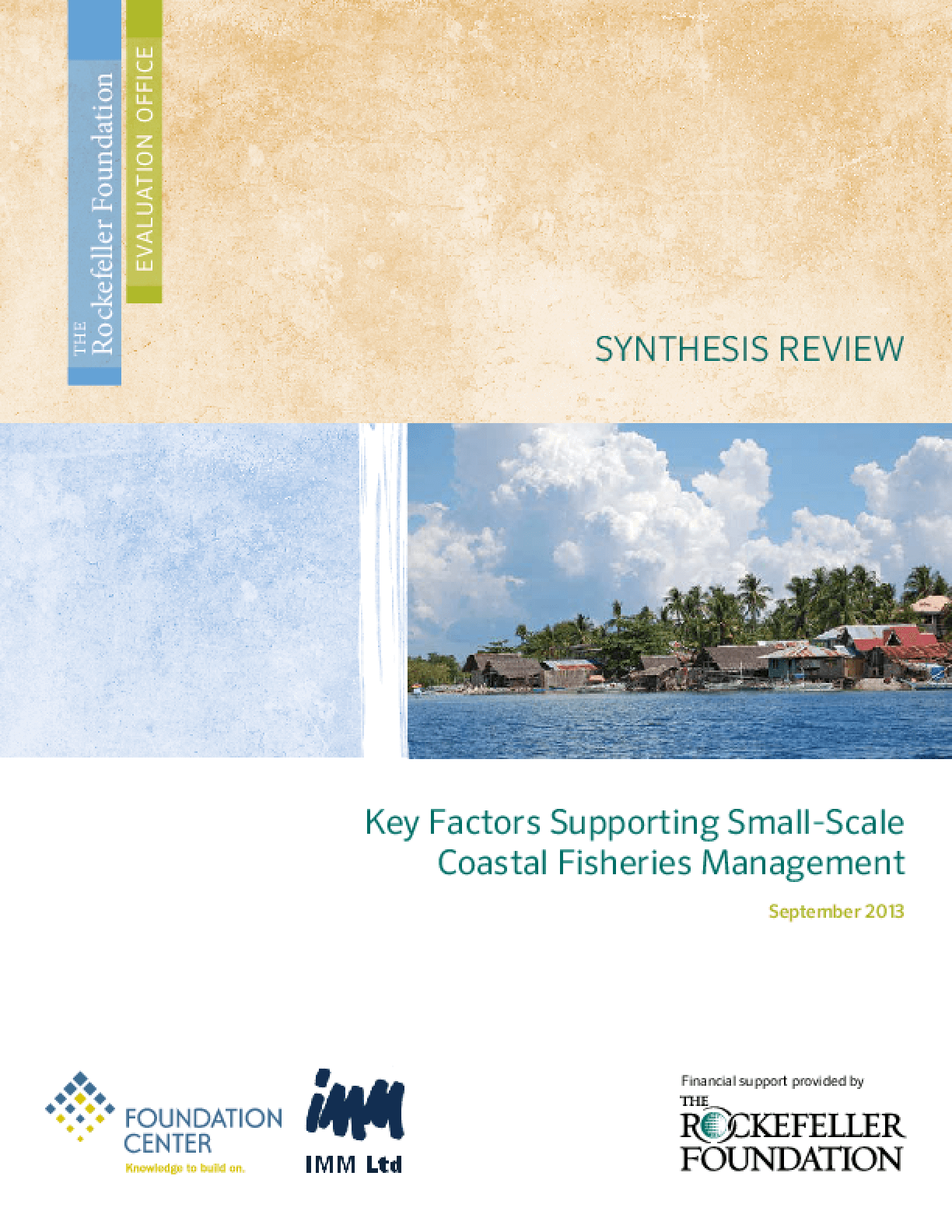 Key Factors Supporting Small-Scale Coastal Fisheries Management
