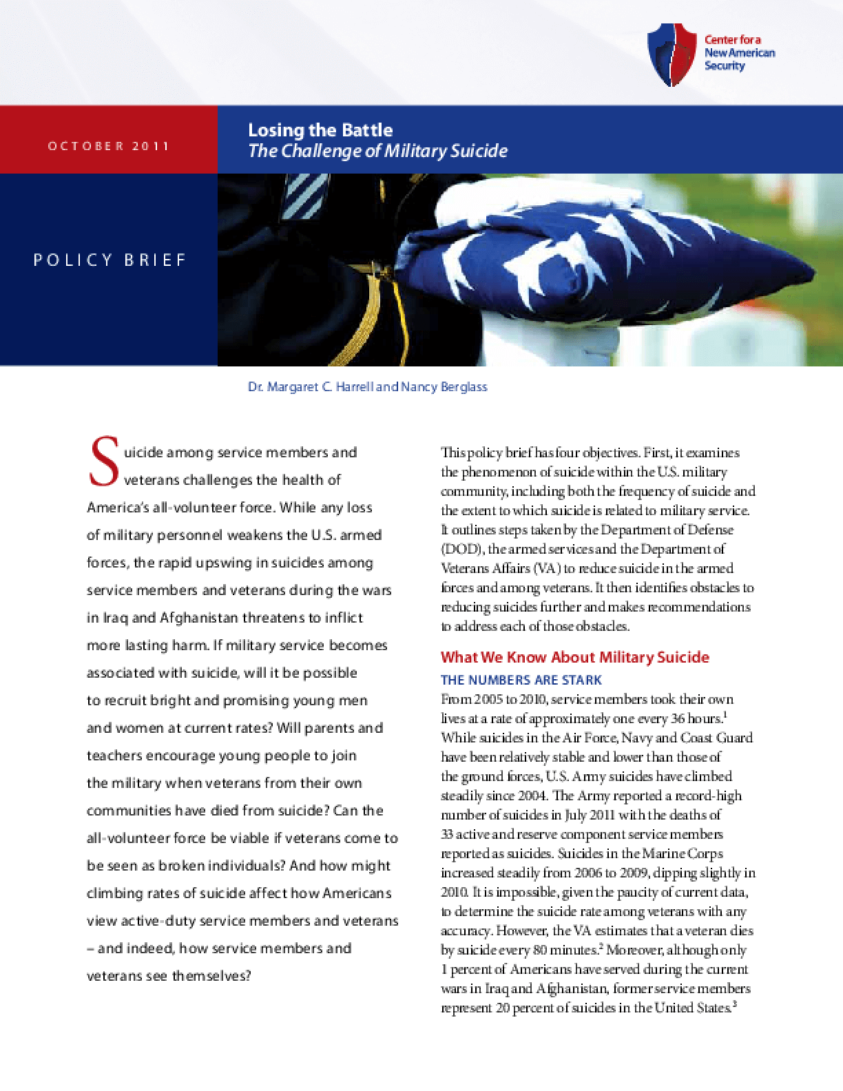 Losing the Battle: The Challenges of Military Suicide