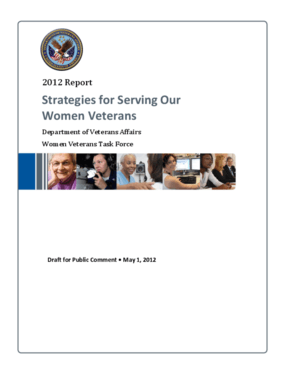 Strategies for Serving Our Women Veterans