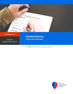America's Veterans: A Sound Investment
