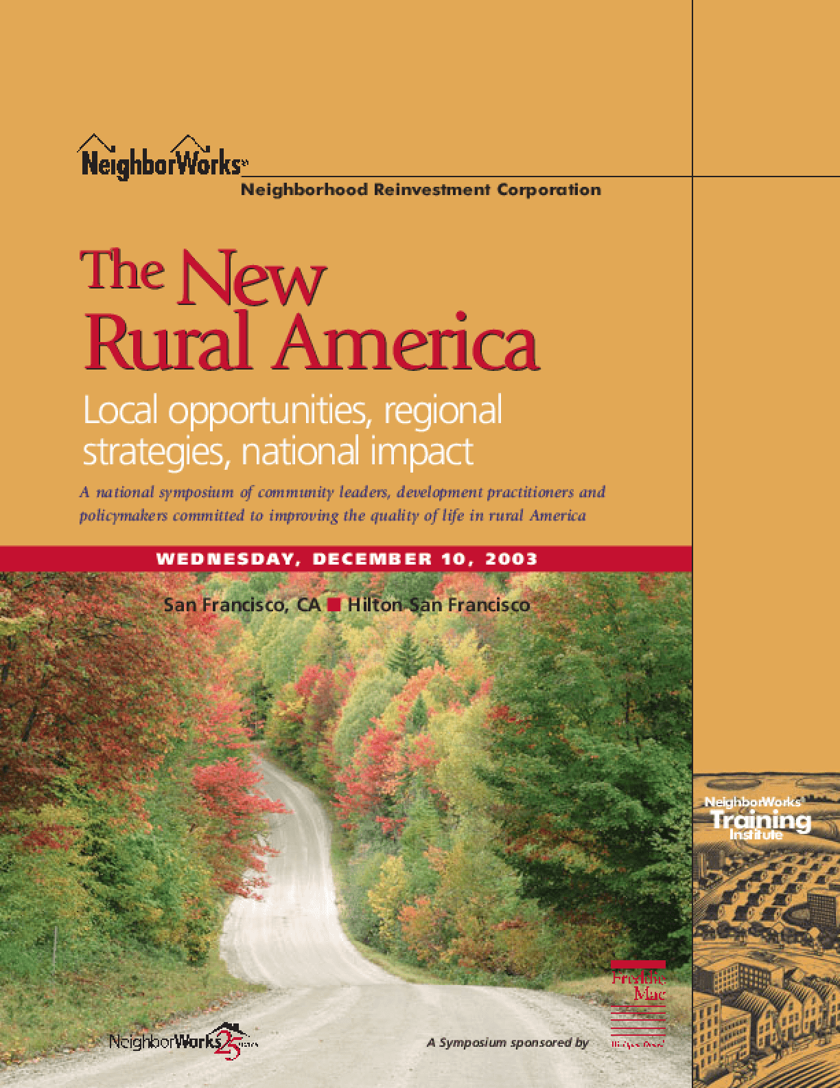The New Rural America: Local Opportunities, Regional Strategies, National Impact