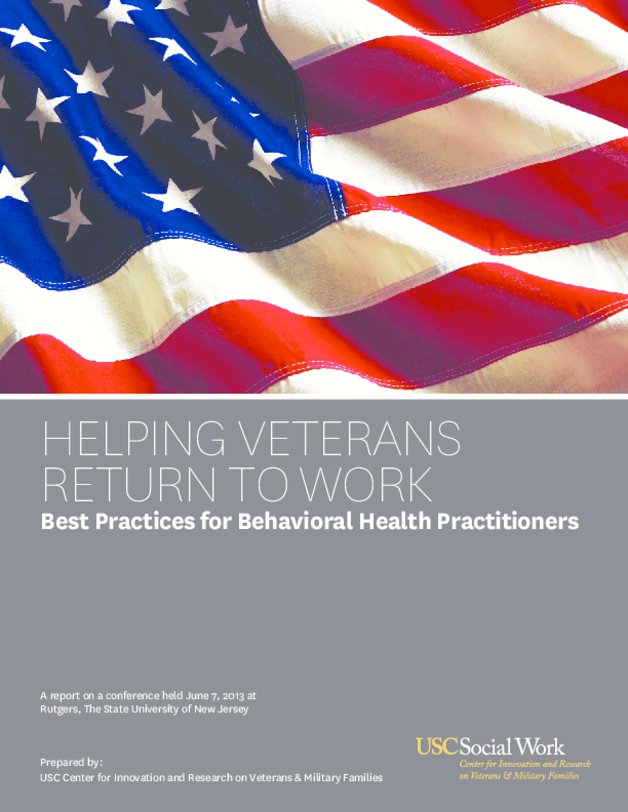 Helping Veterans Return to Work: Best Practices for Behavioral Health Practitioners