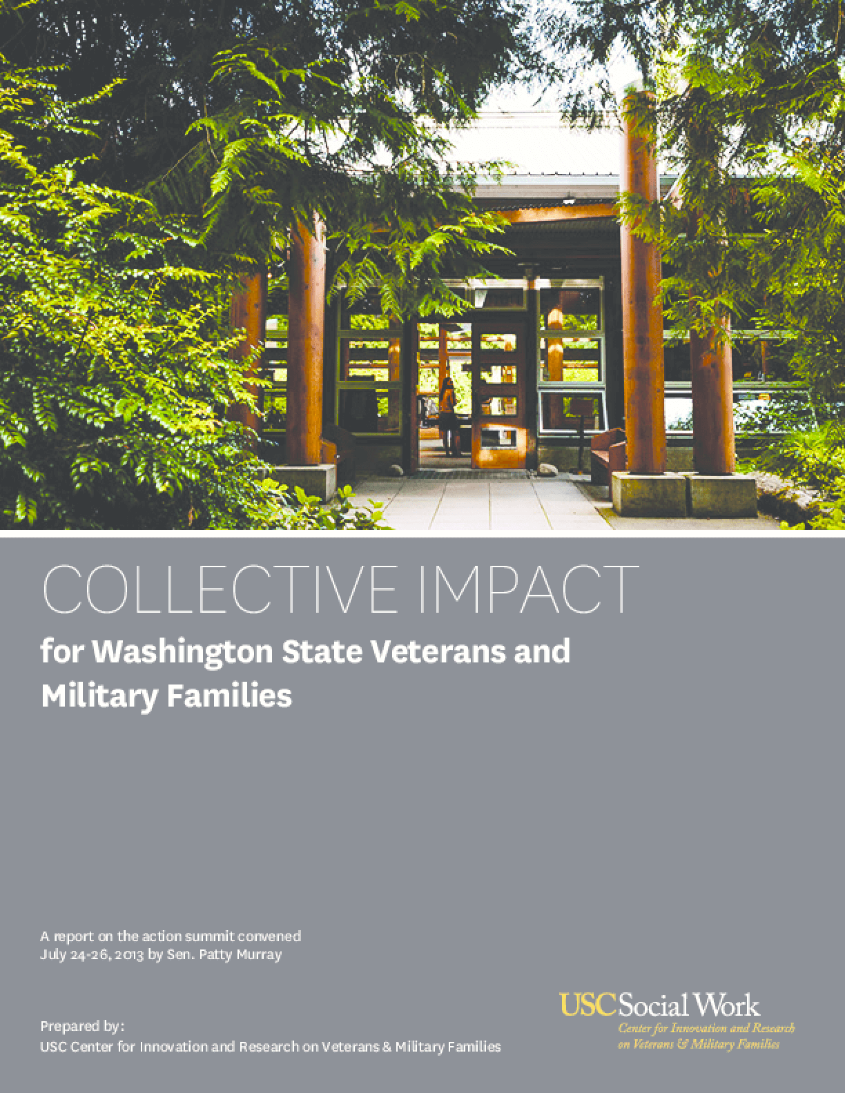 Collective Impact for Washington State Veterans and Military Families