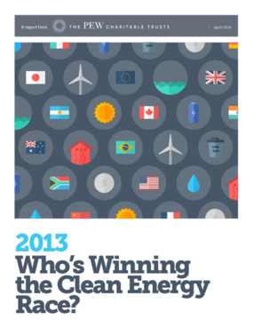2013: Who's Winning the Clean Energy Race?