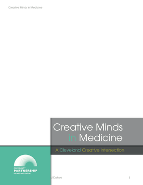 Creative Minds in Medicine: A Cleveland Creative Intersection