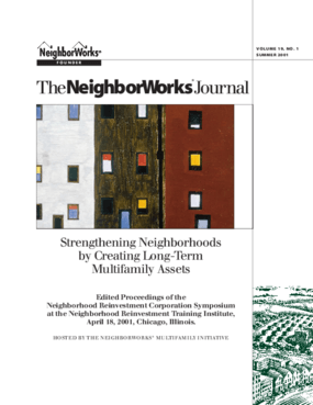 Strengthening Neighborhoods by Creating Long-Term Multifamily Assets