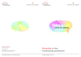 Who's Doing the Asking? Diversity In the Fundraising Profession