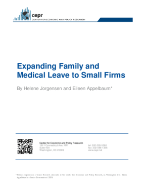 Expanding Family and Medical Leave to Small Firms
