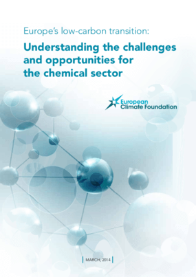 Europe's low-carbon transition: Understanding the challenges and opportunities for the chemical sector