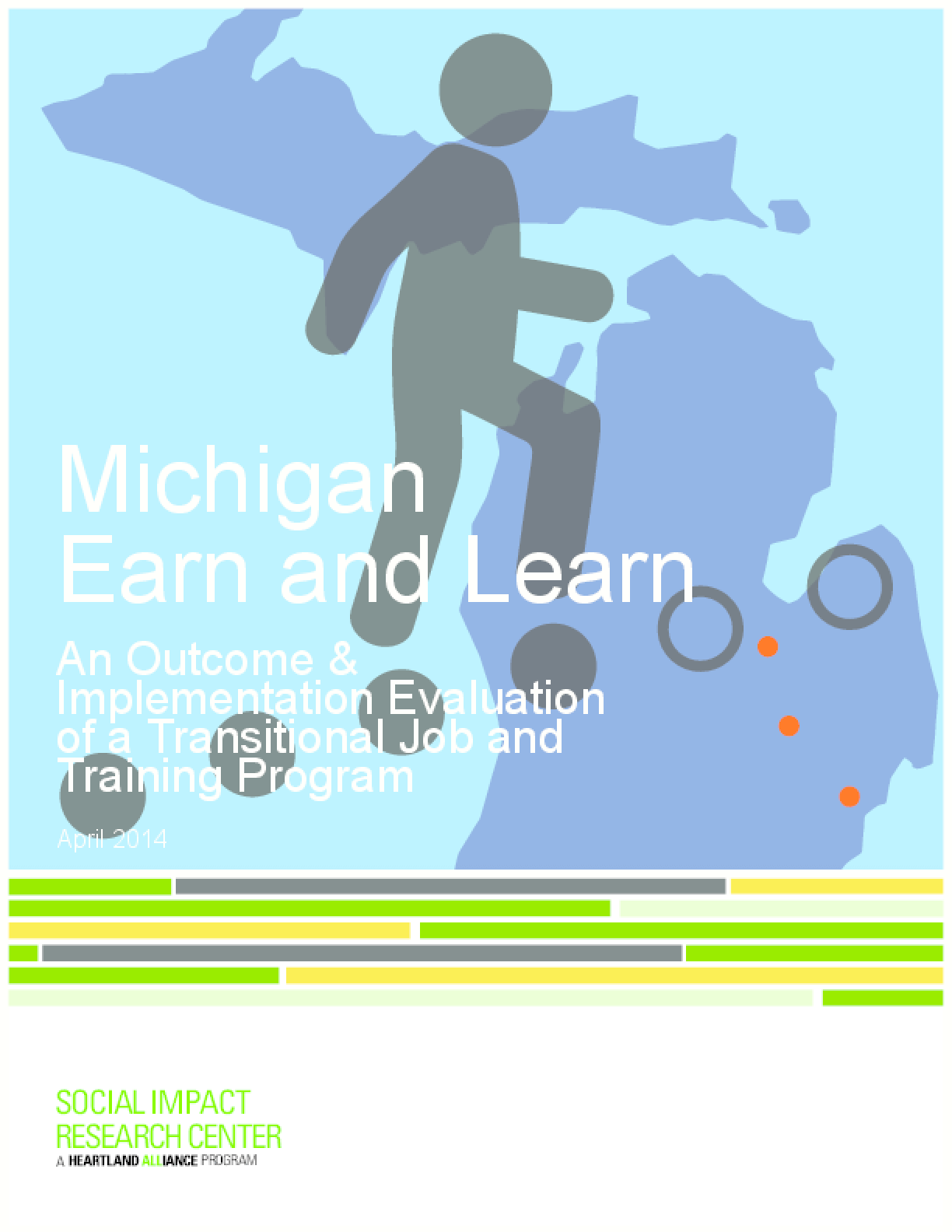 Michigan Earn and Learn: An Outcome & Implementation Evaluation of a Transitional Job and Training Program