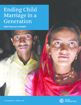 Ending Child Marriage in a Generation: What Research is Needed?