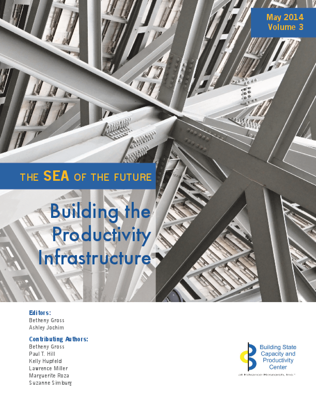 The Sea of the Future: Building the Productivity Infrastructure