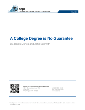 A College Degree is No Guarantee