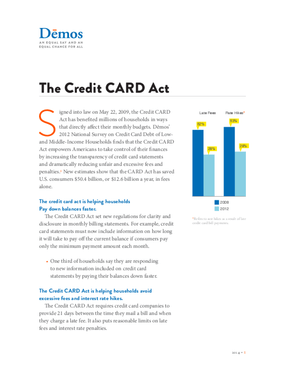 The Credit CARD Act