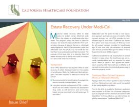 Estate Recovery Under Medi-Cal
