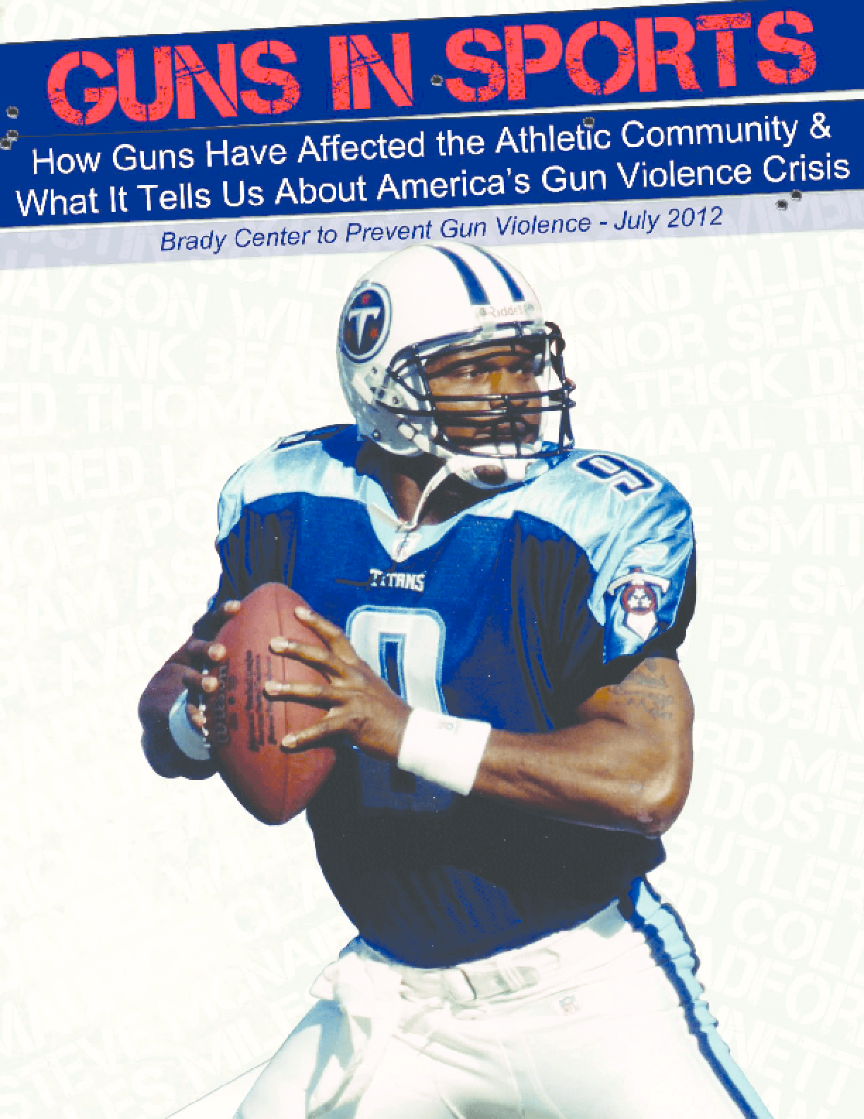 Guns in Sports: How Guns Have Affected the Athletic Community & What It Tells Us About America's Gun Violence Crisis
