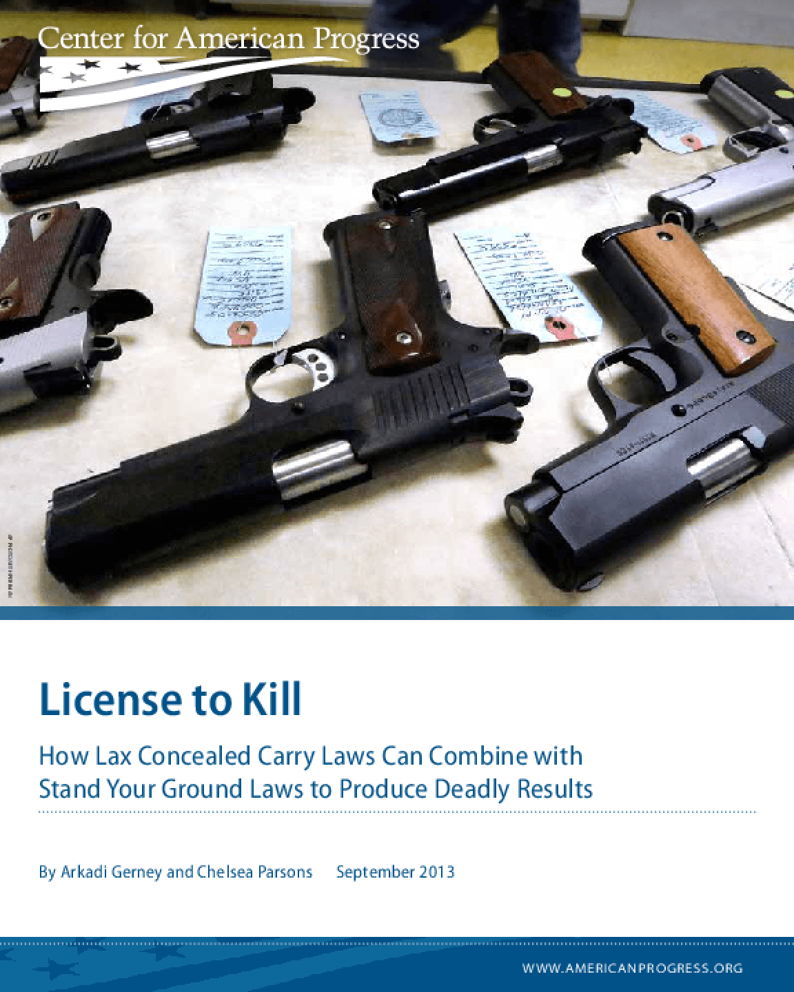 License to Kill: How Lax Concealed Carry Laws Can Combine with Stand Your Ground to Produce Deadly Results
