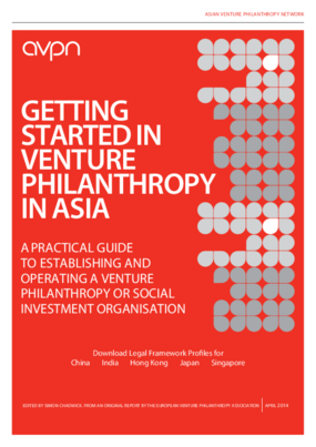Getting Started In Venture Philanthropy In Asia