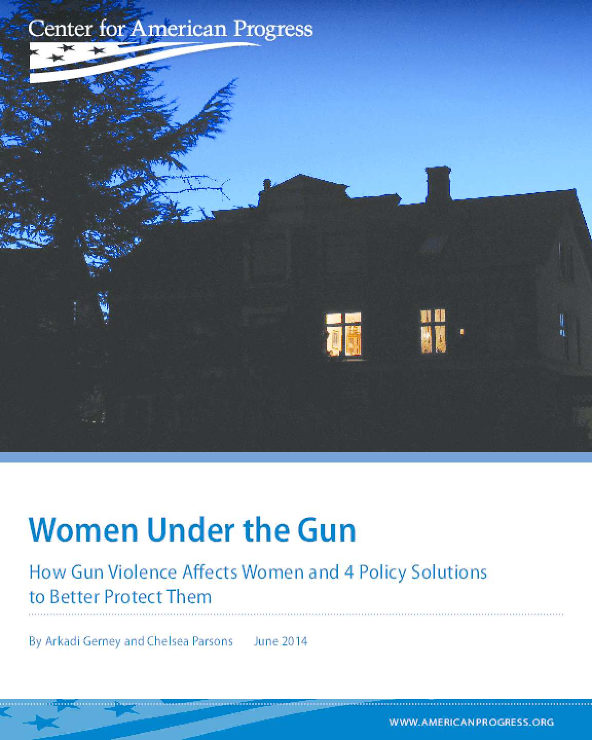 Women Under the Gun: How Gun Violence Affects Women and 4 Policy Solutions to Better Protect Them