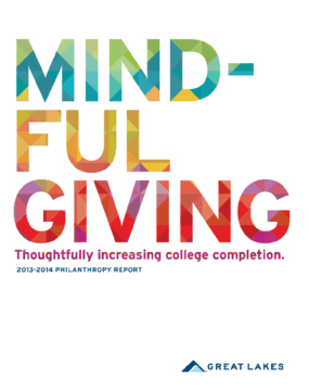 Mindful Giving: Great Lakes 2013-2014 Philanthropy Report