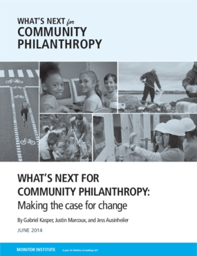 What's Next for Community Philanthropy: Making the Case for Change