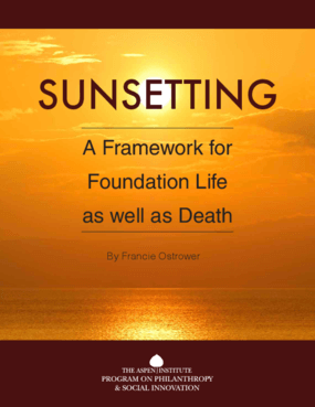 Sunsetting : a Framework for Foundation Life as Well as Death