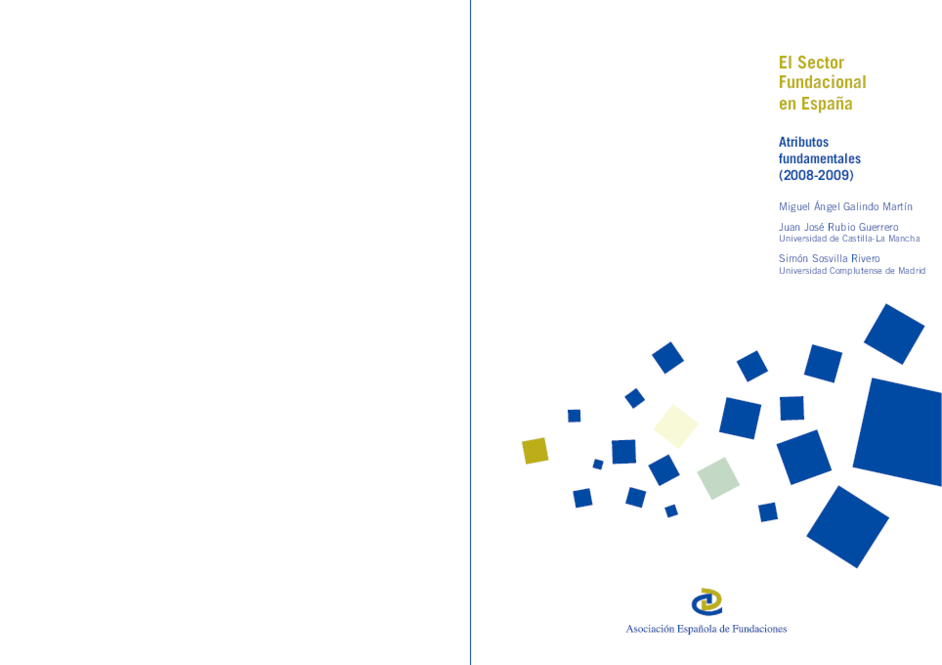 El Sector Fundacional en Espana: Atributos fundamentales (2008-2009)