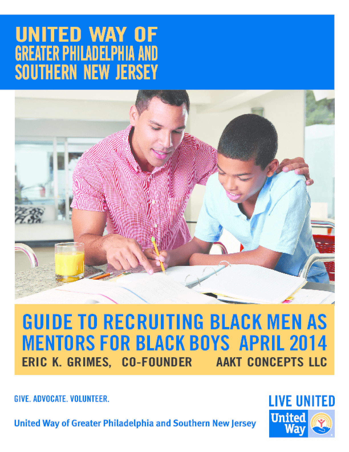 Guide to Recruiting Black Men as Mentors for Black Boys