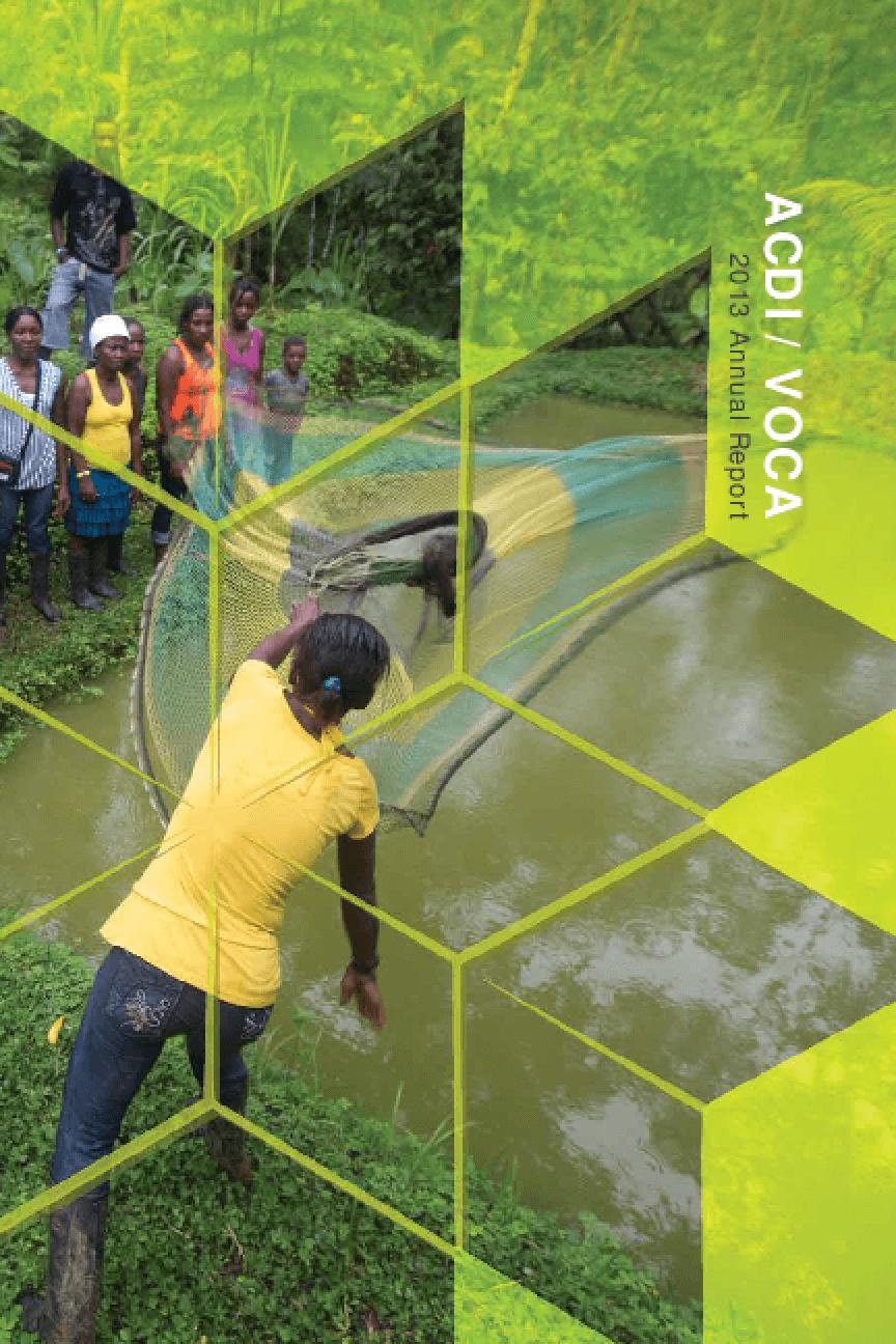 ACDI/VOCA 2013 Annual Report