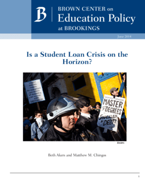 Is a Student Loan Crisis on the Horizon?