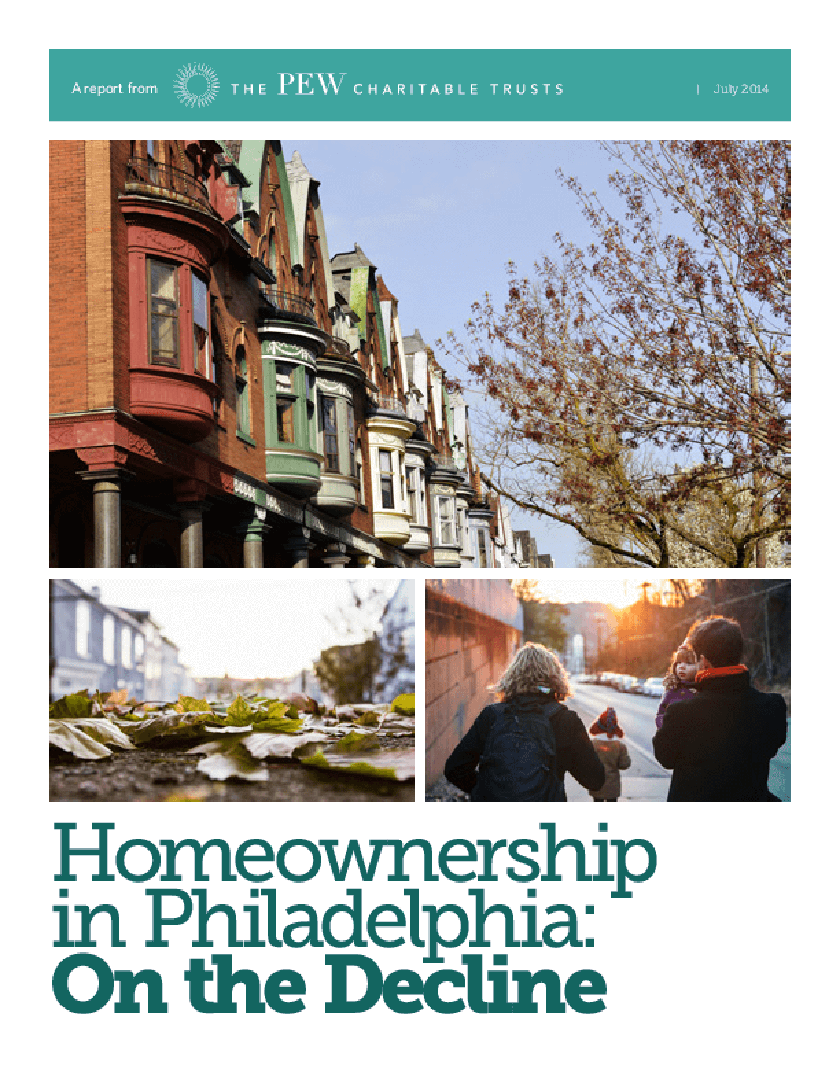 Home Ownership in Philadelphia: On the Decline