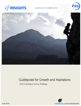 Guideposts for Growth and Aspirations: 2013 Columbus Survey Findings