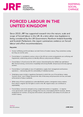 Forced Labour in the United Kingdom