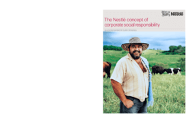 The Nestle Concept of Corporate Social Responsibility as Implemented in Latin America