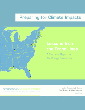 Preparing for Climate Impacts: Lessons from the Front Lines