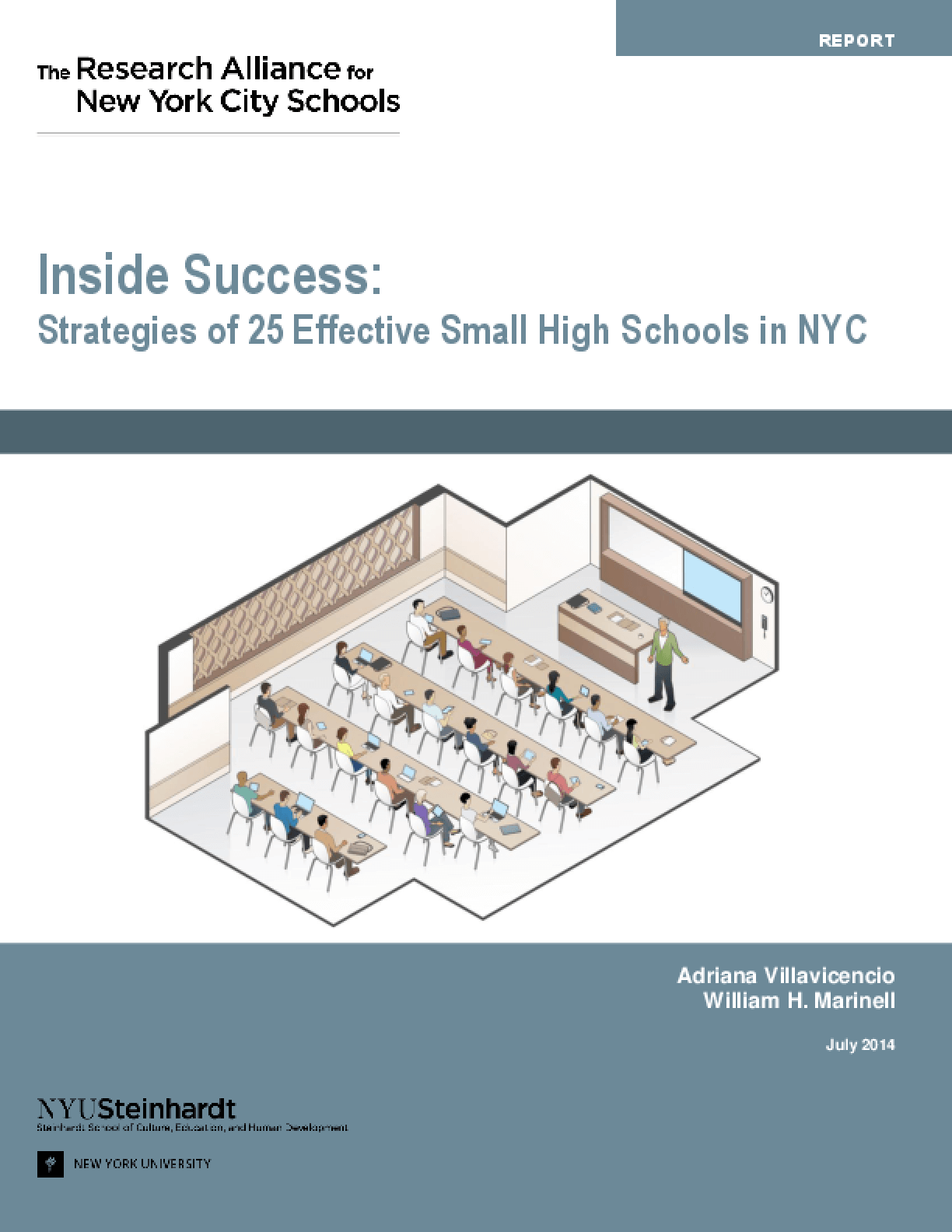 Inside Success: Strategies of 25 Effective Small High Schools in NYC