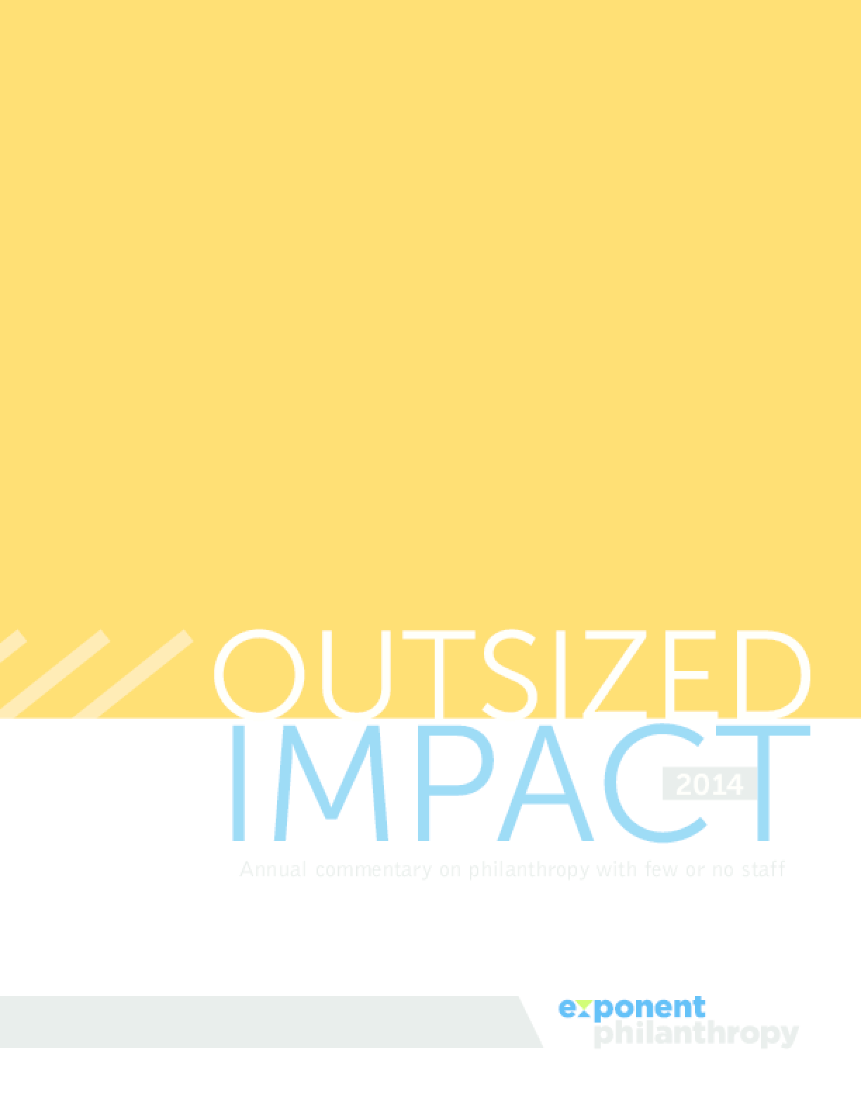 Stories of Outsized Impact featuring Jeffrey Glebocki
