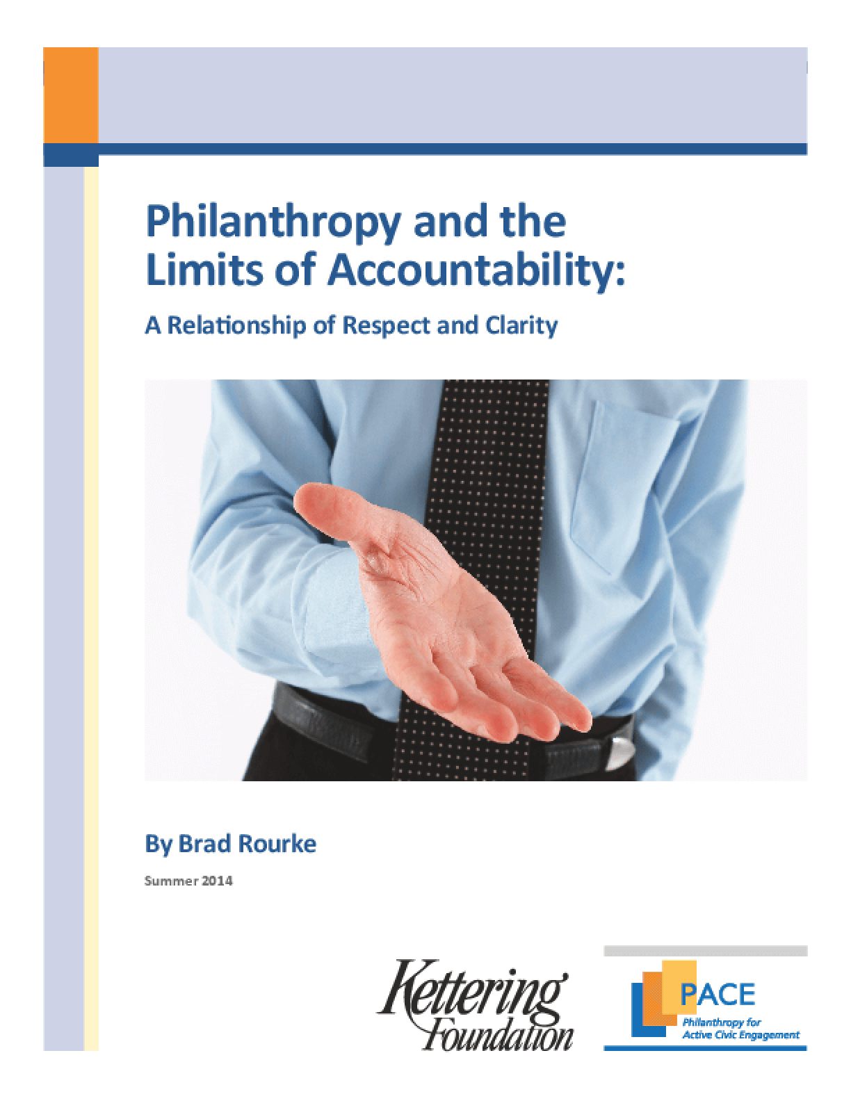 Philanthropy and the Limits of Accountability: A Relationship of Respect and Clarity