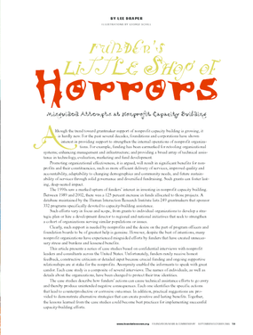 Funder's Little Shop of Horrors