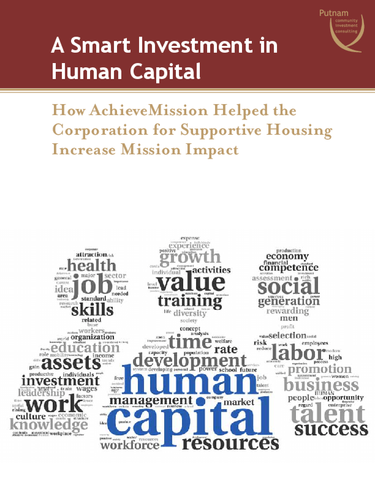 A Smart Investment in Human Capital: How AchieveMission Helped the Corporation for Supportive Housing Increase Mission Impact