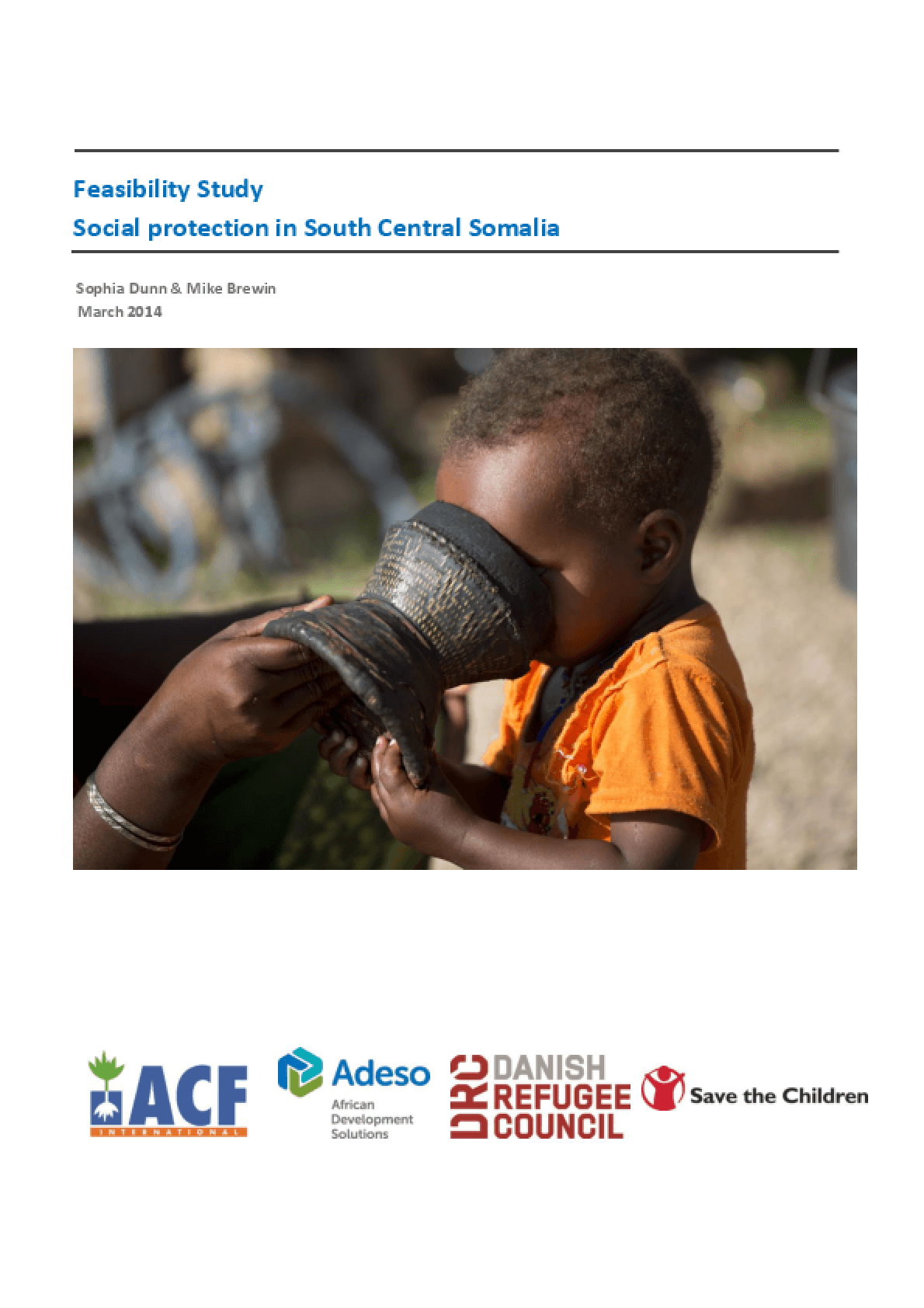 Feasibility Study: Social Protection in South Central Somalia
