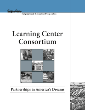 Learning Center Consortium 2003 Report