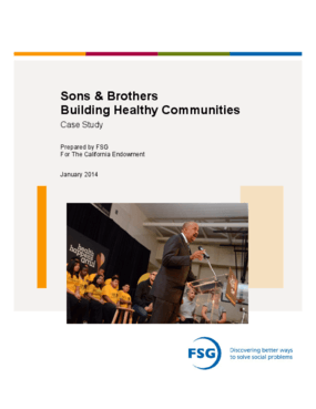 Sons & Brothers Building Healthy Communities Case Study