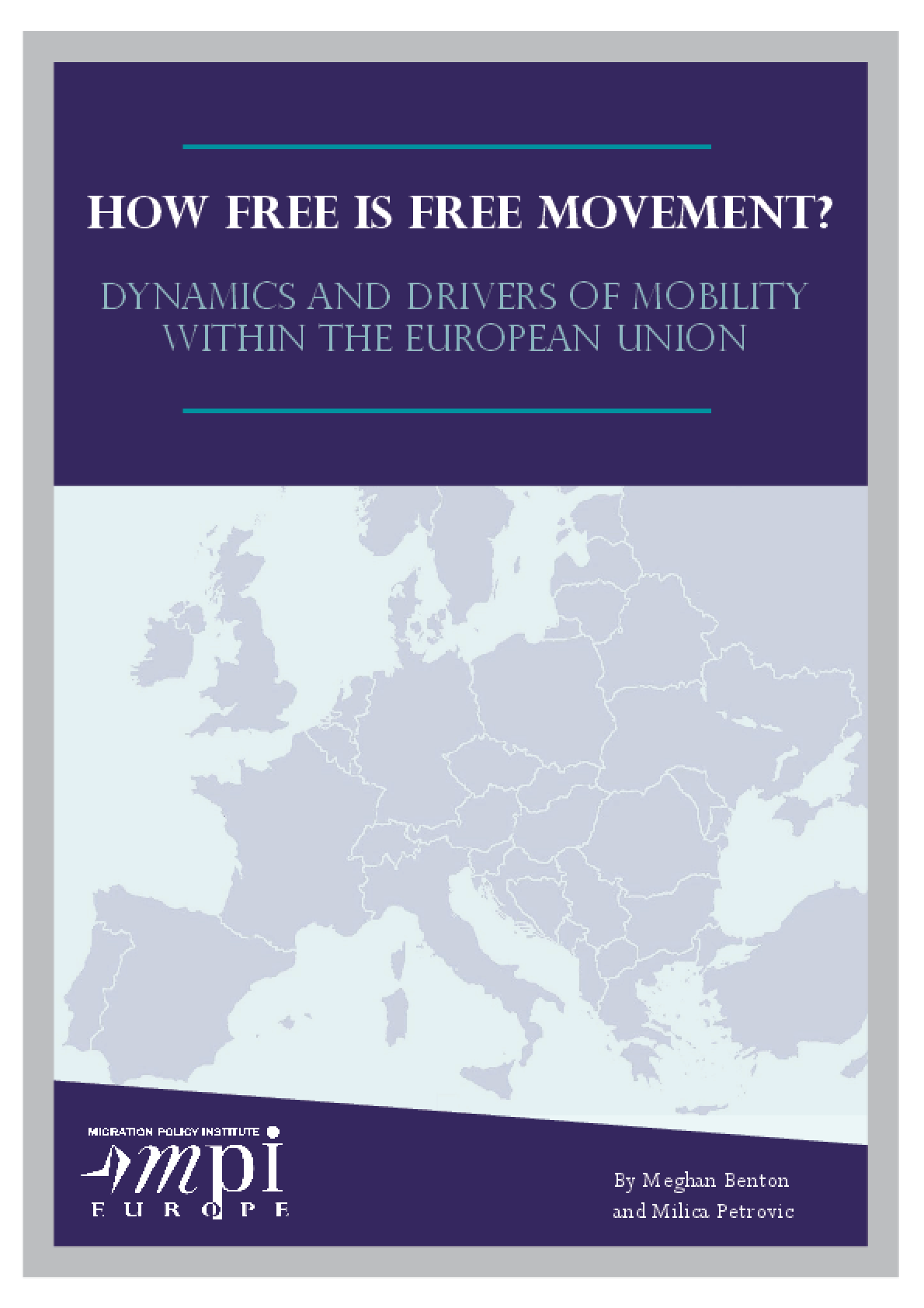 How Free is Free Movement? Dynamics and Drivers of Mobility Within the European Union