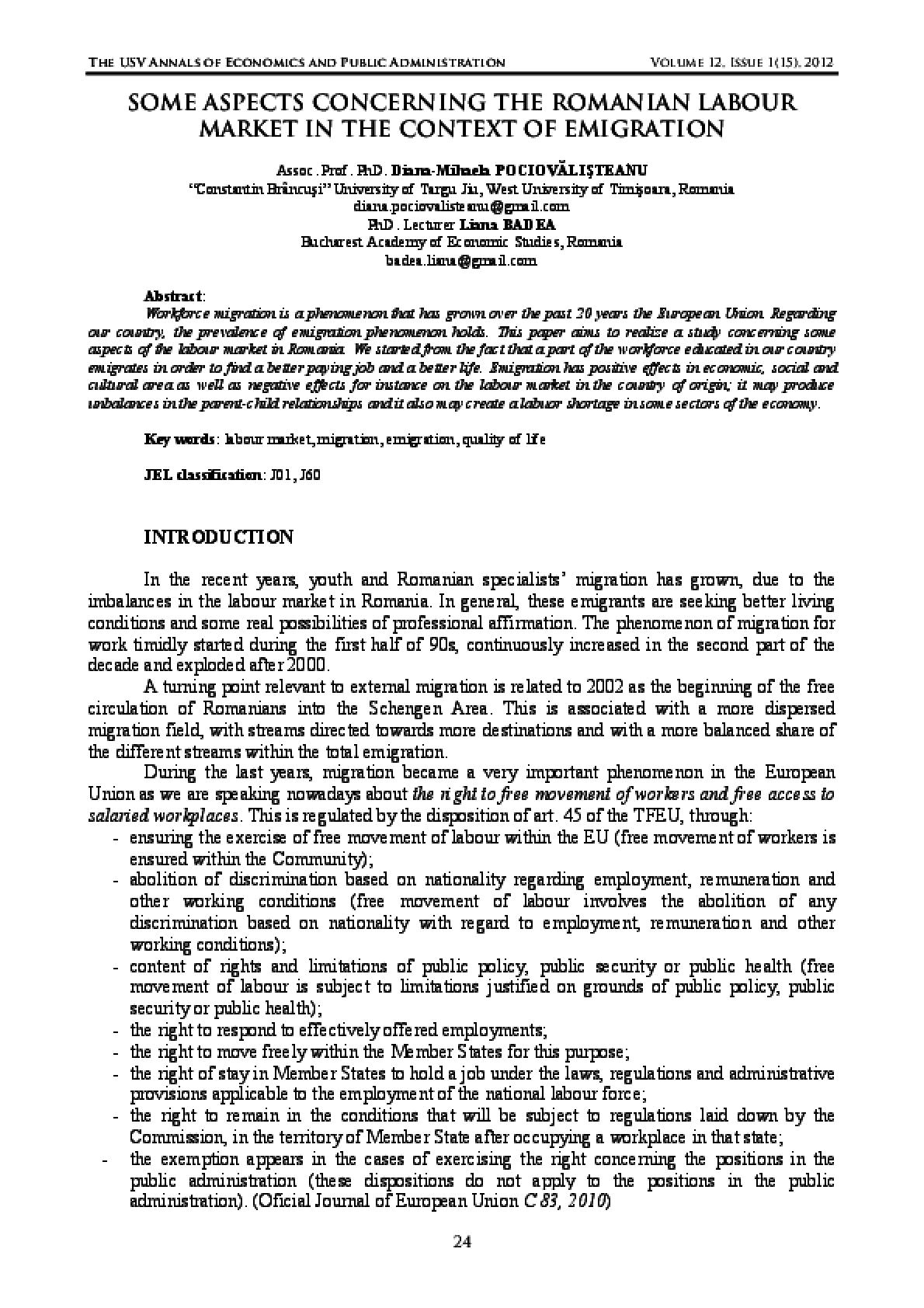public administration and economics