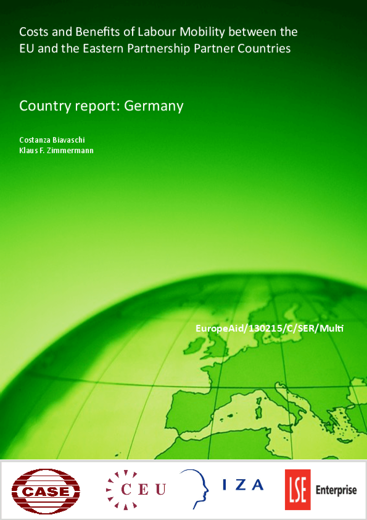 Costs and Benefits of Labour Mobility Between the EU and the Eastern Partnership Partner Countries. Country Report: Germany